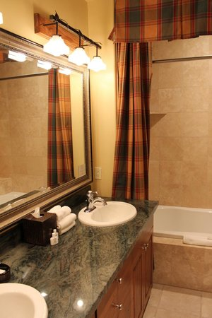Grand View Lodge: Bagno