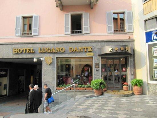 Lugano Dante Center Swiss Quality Hotel : Hotel Entrance