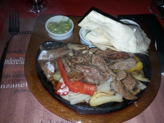 Jimmy Joker Steakhouse: Steak fagita