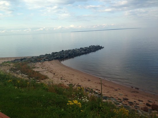 Pictou Lodge Beachfront Resort: Beautiful view from Pictou Lodge