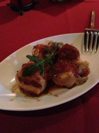 EL Cid Spanish Restaurant(JiaNing Street) : Clam with tomato base sauce