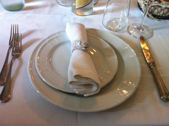 Ristorante Lu Focaro: servizio al tavolo