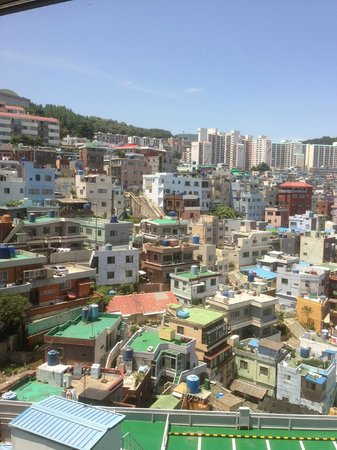 Hotel Commodore Busan : View from the room