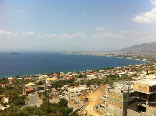 Belvedere Hotel : view of the messinian bay