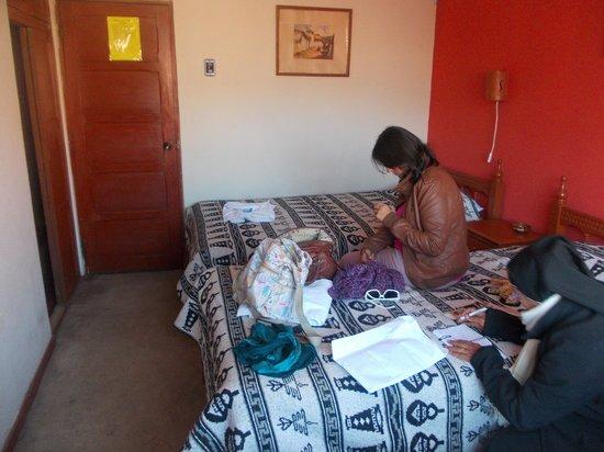 Hostal Del Inca: habitacion triple