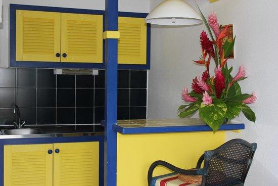 La Maison Creole : Kitchenette