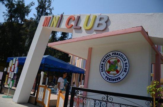 Club Hotel Phaselis Rose: mini club