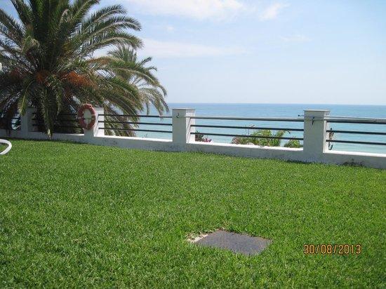 Apartamentos Torre de la Roca : udsigten over middelhavet