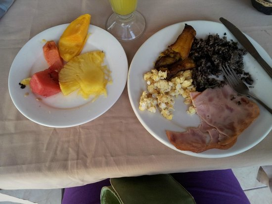 Hotel Javy: Partially eaten breakfast, yum