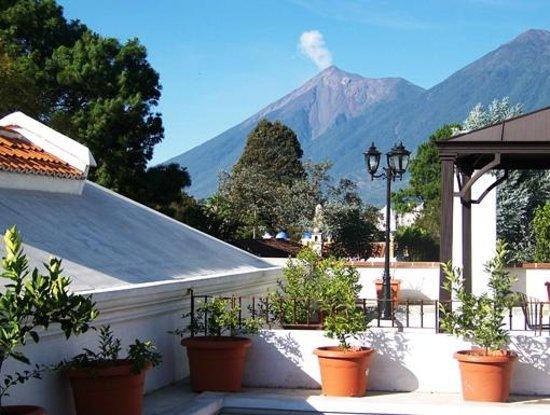 Hotel Vilaflor: Terraza