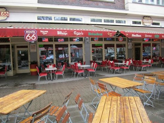 Fabulous Route 66 50s Diner: Route 66
