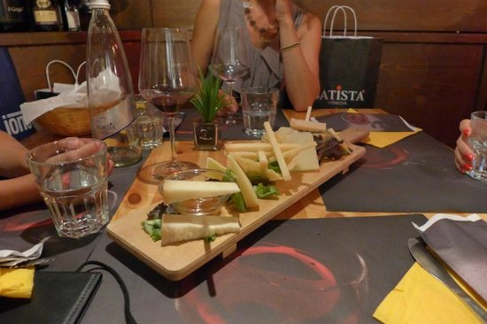 Enoteca dei Tadi : Cheese art