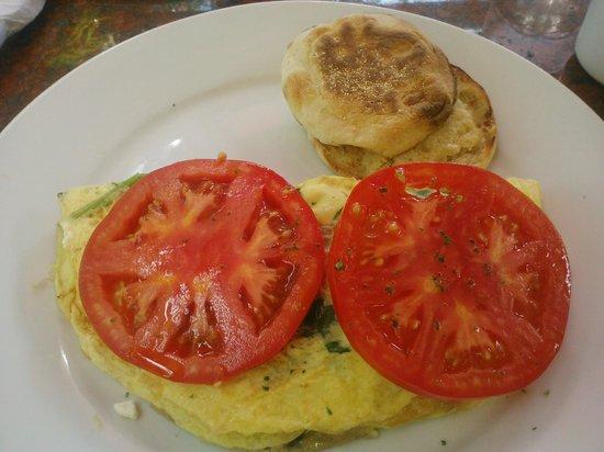 Sun Garden Cafe : Med Revival garden omelet