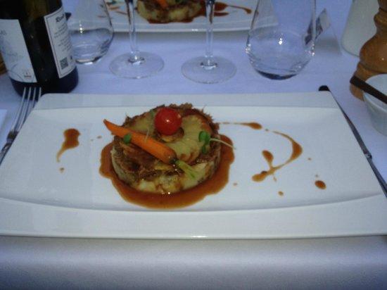 Hôtel Restaurant Les Prateaux : gigot d agneau exceptionnel