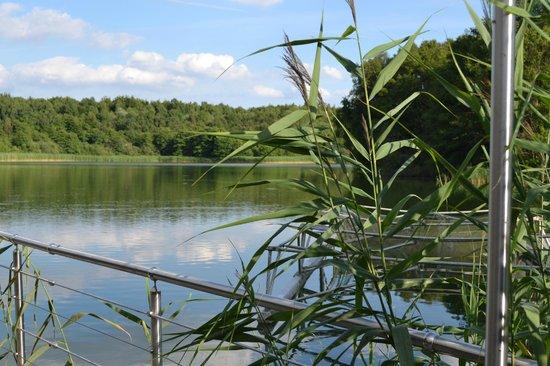 Brückenhaus am Schaalsee: Am Wasser