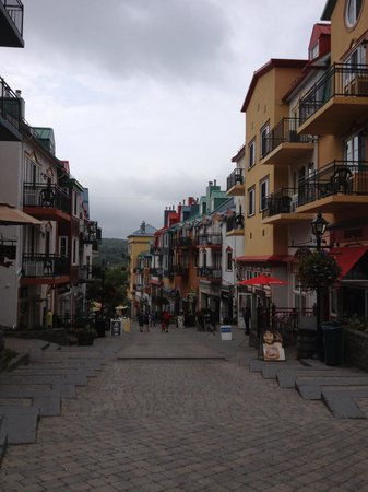 Homewood Suites Mont-Tremblant: From the north of the village where the hotel is located
