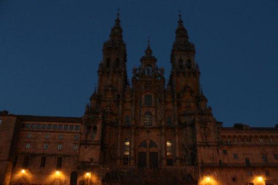 Meravigliosa cattedrale foto di cattedrale di santiago for Tempio di santiago