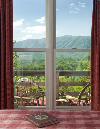 Richmont Inn : The stunning view from the Bartram Suite