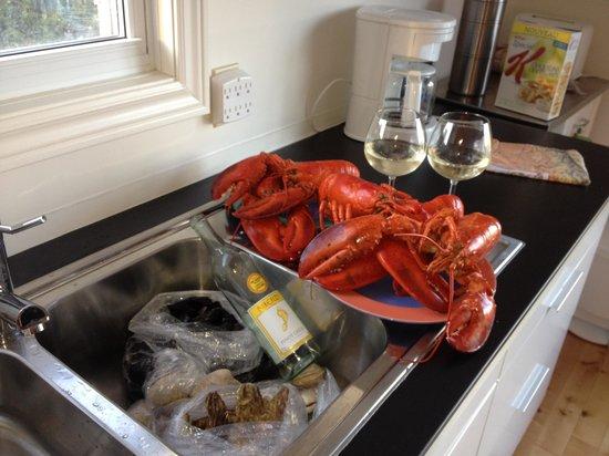 Provincetown Inn Resort & Conference Center: Dinner in Prince Edward island