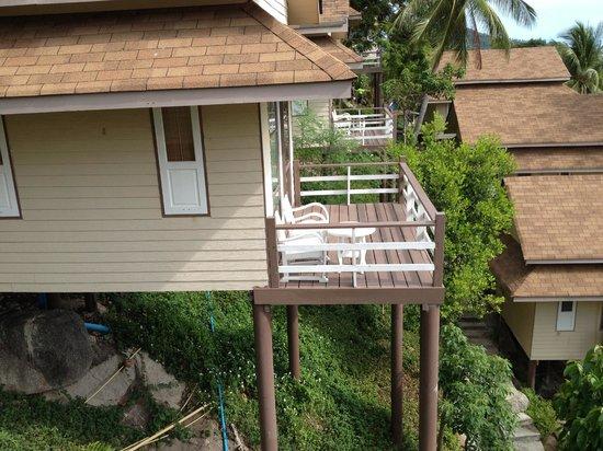 Koh Tao Hillside: i bungalow