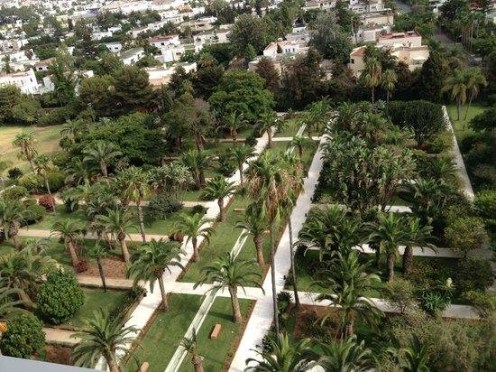 Vue jardin picture of sofitel rabat jardin des roses for Jardin oudaya rabat
