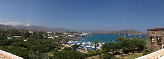 Elounda Beach Hotel & Villas: vanaf de receptie