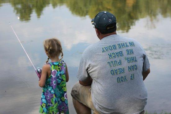 Pine Cradle Lake Family Campground: Fishing