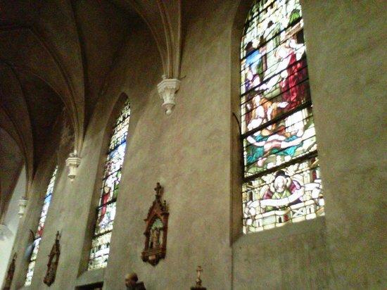 Nuestra Señora de la Merced: Vitraux alemanes