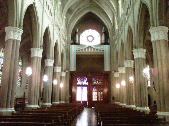 Nuestra Señora de la Merced: Nave principal, coro y órgano de tubos