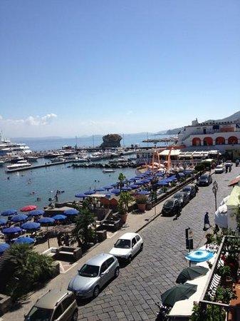 Hotel Terme Marina: dal balcone