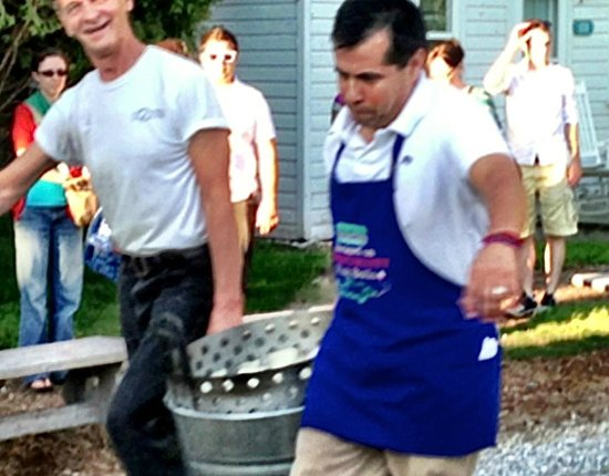 Edgewater Resort : Door County Fish Boil