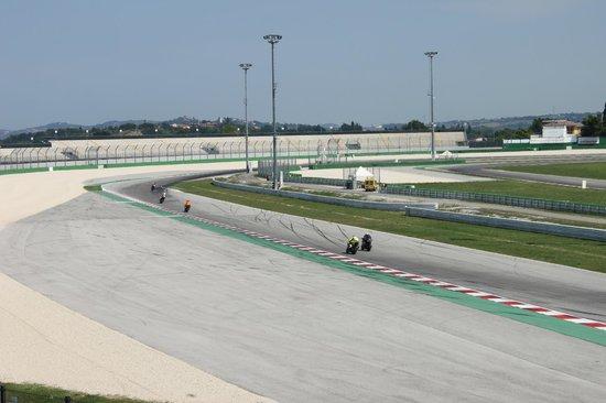 Misano Circuit : Le moto in Pista