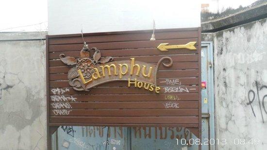 Lamphu House: sign