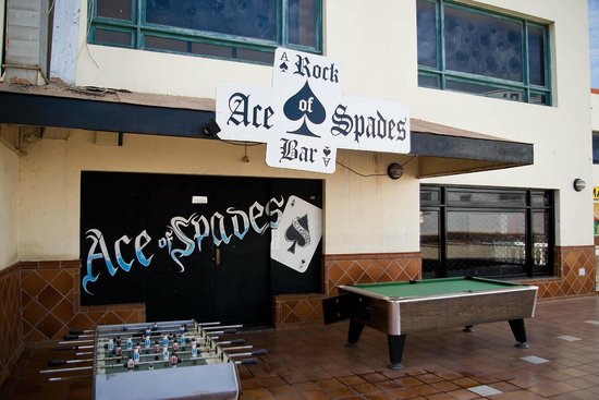 Ace Of Spades Rock Bar