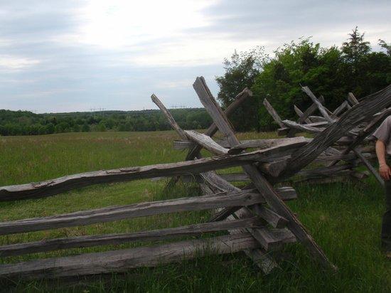 Manassas National Battlefield Park: Battle line - South