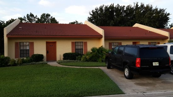 Our Villa and rental car while at Orange Lake Resort - Picture of ...