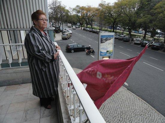 SANA Rex Hotel: Vista da Rua Castilho