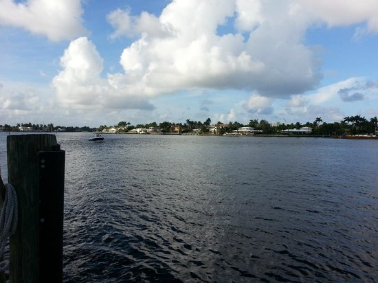 View from the dock outside 15th Street Fisheries