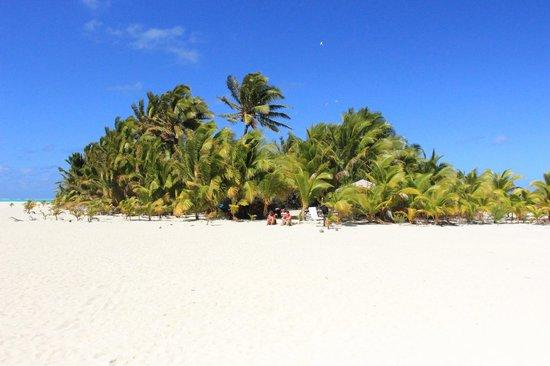 Kiteboard Aitutaki : Honeymoon Island