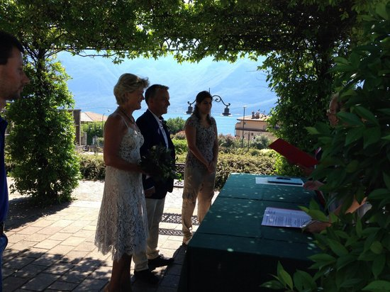 Hotel Monte Baldo : Wedding Ceremony