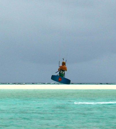 Kiteboard Aitutaki : Lagoon