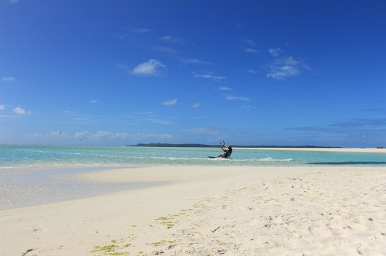 Kiteboard Aitutaki : warm waters, clear skies and a constant 20 knots