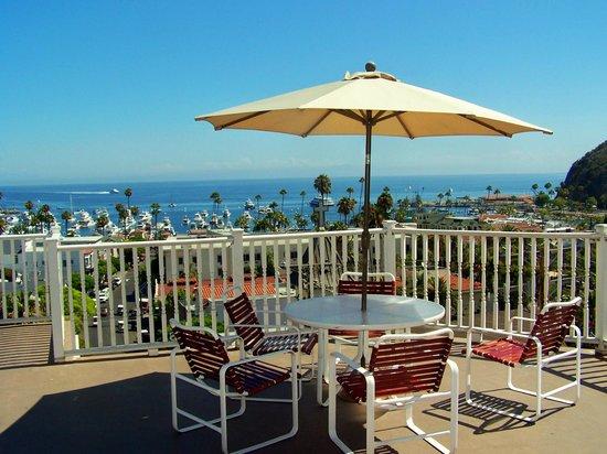 Hotel St. Lauren: View from 6th floor patio!