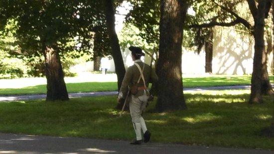 Washington Crossing State Historic Park: Militia on patrol