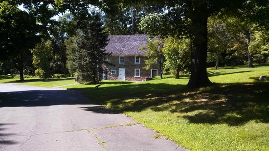 Washington Crossing State Historic Park: one of the houses you can visit