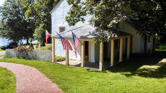 Washington Crossing State Historic Park: at the bottom, free to view