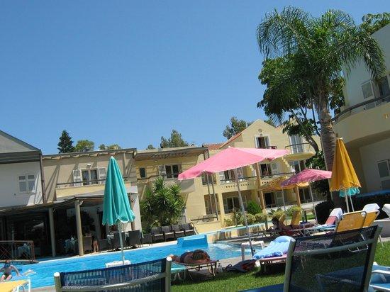 Cretan Dream Hotel: Dejligt poolområde hvor der altid er ledige solstole