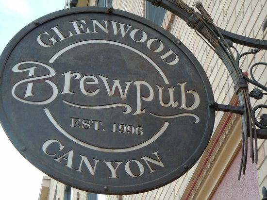 Glenwood Canyon Brewing Company: Outdoor sign