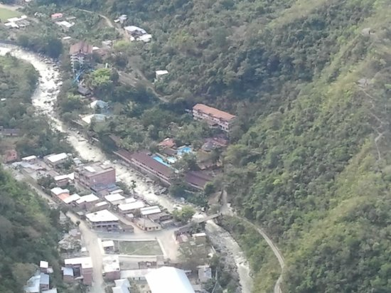 Rio Selva Resort - Yungas : View from above