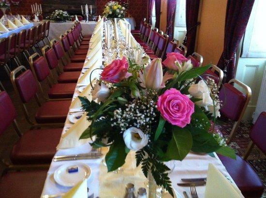 Oakeley Arms Hotel: Wedding